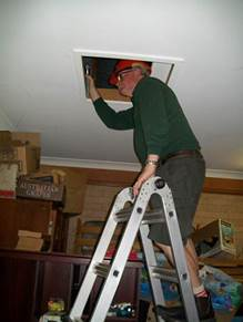 inspecting builbing for faults